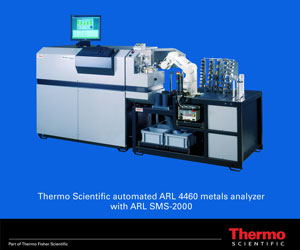 Thermo Fisher Scientific Ships Its 300 th ARL 4460 Metals Analyzer With SMS-2000 Automation To ...