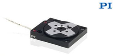 PI's Newest 32mm Wide x 7mm High Compact Rotary Stage