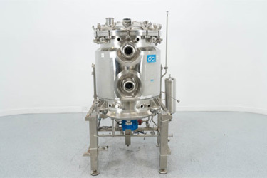 Used 250 Liter Jacketed Reactor Vessel From DCI
