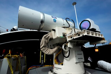 Navy Laser Weapons System