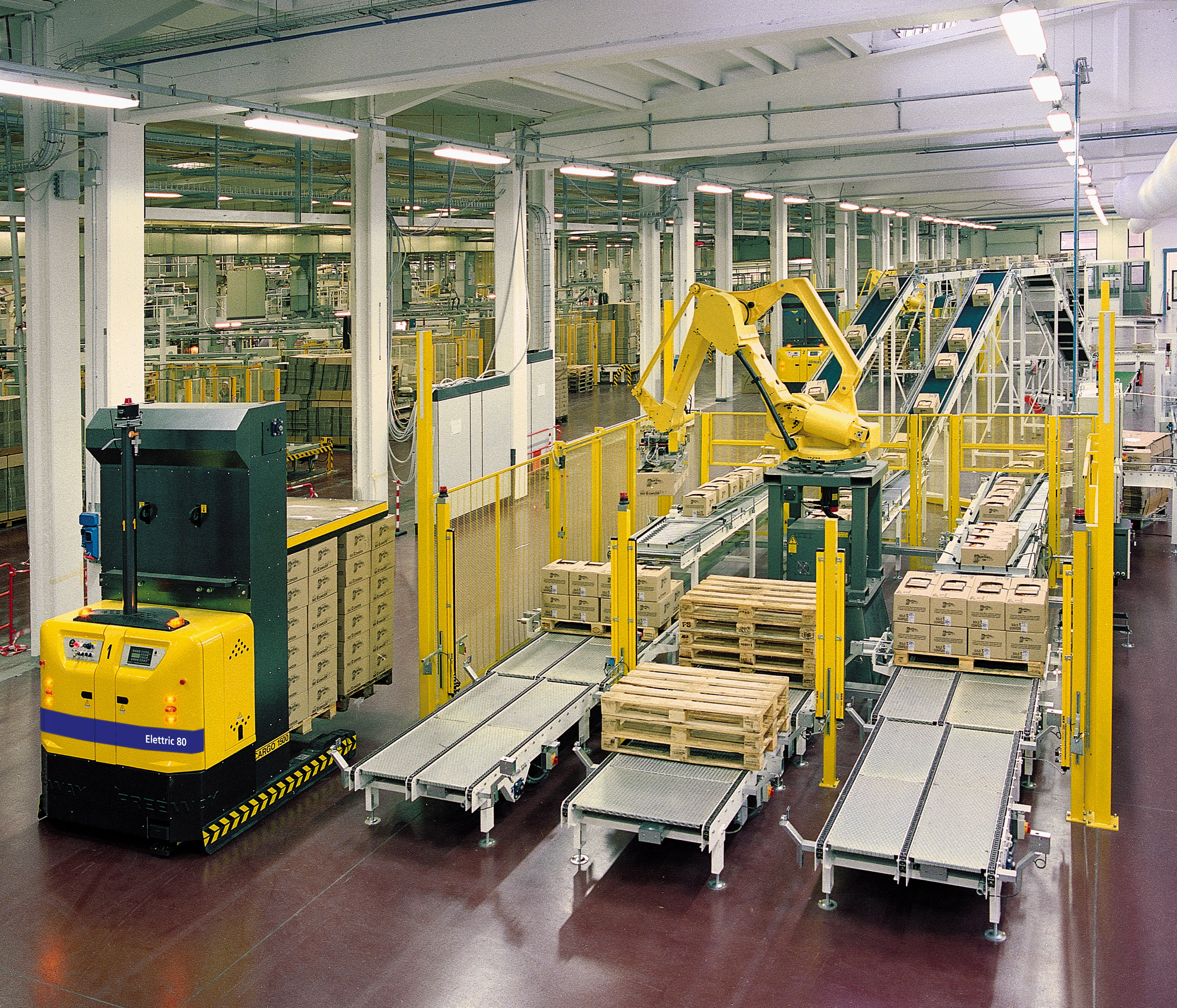 Optimizing Efficiency With End Of Line Pallet Handling In