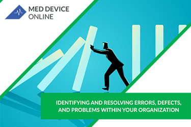 Identifying And Resolving Errors, Defects, And Problems Within Your Organization