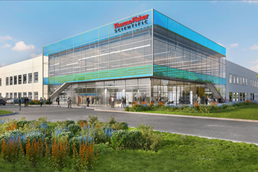 Thermo Fisher Plainville Rendering