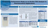 Application Note: Preliminary Performance Study On An On-Line TOC Analyzer In Pharmaceutical Applications