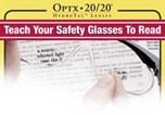 OPTX•20/20 Reading Lenses for Safety Glasses