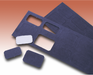 Flexible, Broadband, Magnetic Microwave Absorber: C-RAM FGMM