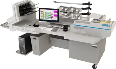 OPEX FalconRED Digital Mail Center Document Scanning Workstation