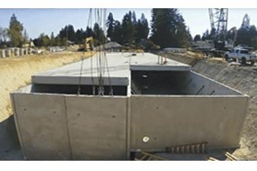 Oldcastle Precast Supplies Stormwater Panel Vault System For