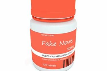 No Prescription For Fake News