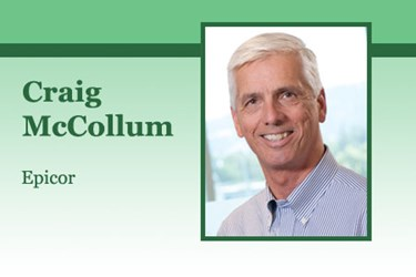Craig McCollum, Executive Vice President of the Americas for Epicor