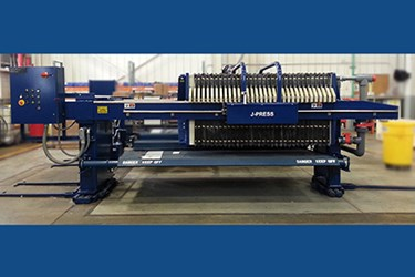 Large Capacity J-Press® Sidebar Filter Press