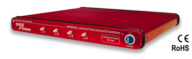 Multi-Channel RF Synthesizers: HSX9000 Series