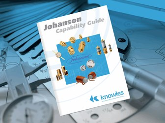 New Shortform Brochure Outlines Ranges Of Johanson MFG Trimmers From Knowles