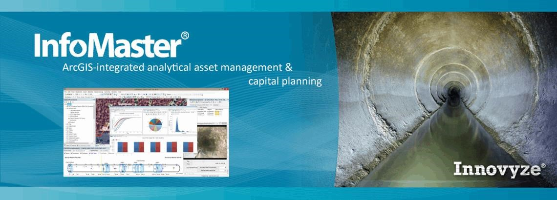 <B>InfoMaster</b>: Advanced ArcGIS-Integrated Risk-Based Analytical Asset Management And Capital Planning Software