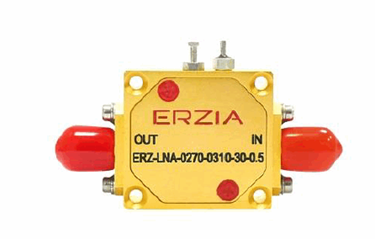 2.7 To 3.1 GHz Low Noise Amplifier: ERZ-LNA-0270-0310-30-0.5