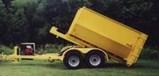 EZ Rolloff Trailer 12,000 lb G.V.W.