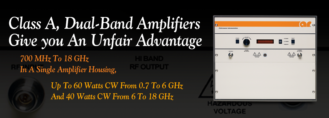1 To 18 GHz Microwave Power Amplifiers