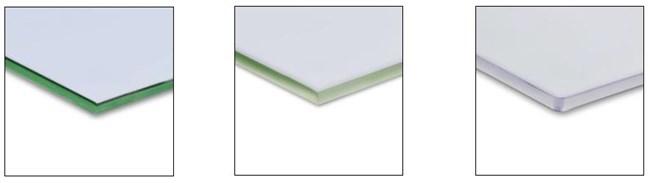 Common Glass Edge Treatments