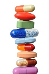 multi-layer tablets and capsules