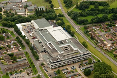 Swindon UK Aerial Shot