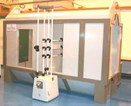 Patented Spray Booth