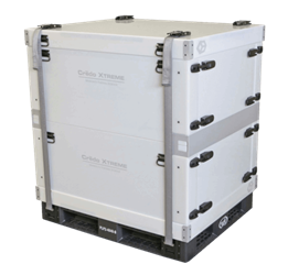 Reusable, Temperature-Controlled Pallet Shipper