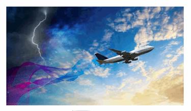 NASA Develops Wireless Sensors To Detect Lightning Strike Damage To Composite Aircrafts