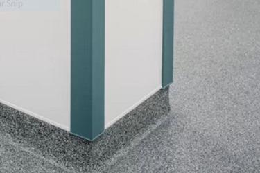 Pharma cleanroom flooring