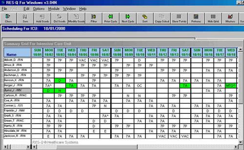 Res Q Labor Resource Management System