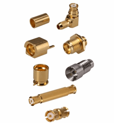 SMP Snap-On Connectors For Applications Up To 40 GHz