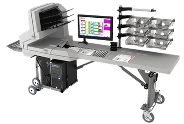 OPEX Falcon Transportable Document Scanning Workstation