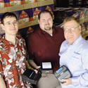 (L to R) Jonathan O'Neil, co-owner; Darin Spence, GM; and Kent O'Neil, co-owner of Encompass Technologies