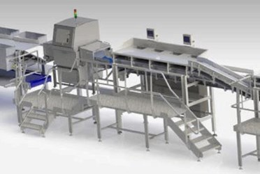 Trim Management System with Fat Measurement Analysis for Meat Processors