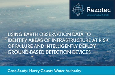 Using Earth Observation Data To Identify Areas Of Infrastructure At Risk Of Failure And Intelligently Deploy Ground-Based Detection Devices