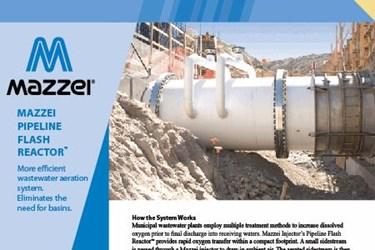 Pipeline Flash Reactor
