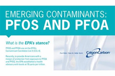 Emerging Contaminants: PFOS AND PFOA