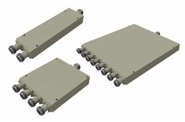 400 MHz To 6 GHz Wilkinson Power Divider Models With N Female Covering
