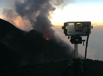 Volcanic Eruption Observations From An Elevated Point Of Stromboli Using Thermal Infrared Hyperspectral Imaging