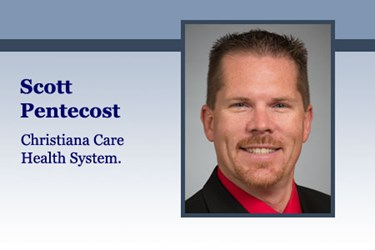 Scott Pentecost is the Manager of Materiel Operations at Christiana Care Health System.