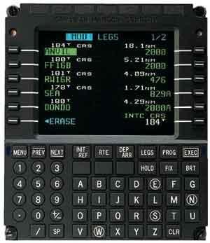 Gps Based Flight Management System