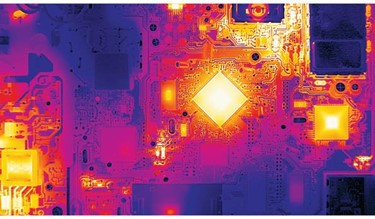 thermal imaging circuit board