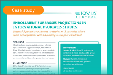 Clinical Leader-Enrollment Psoriasis-CaseStudy-October