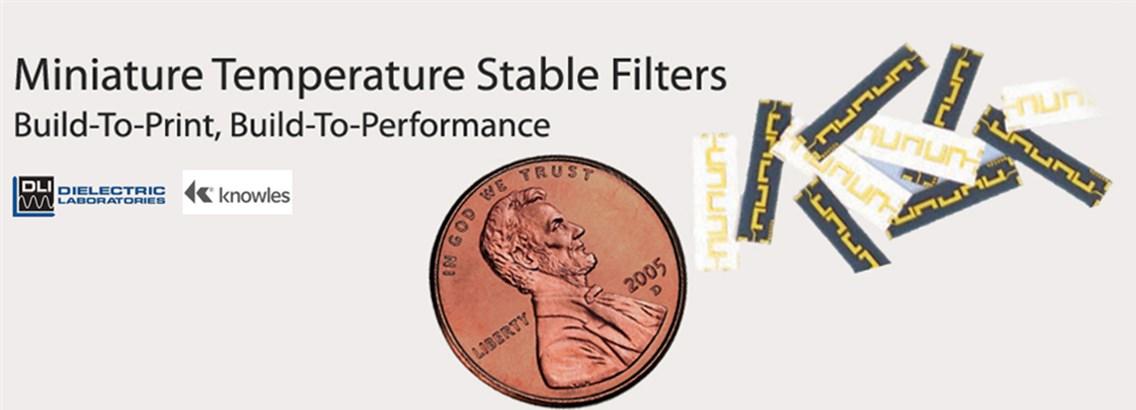 Mini Temperature Stable Filters