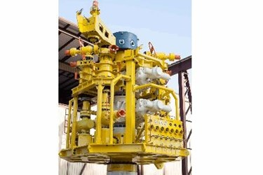 Wild Well's pioneering WellCONTAINED capping stack located in Singapore