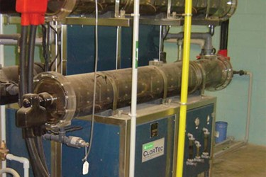 On-Site Hypochlorite System Delivers Historic Efficiency Levels