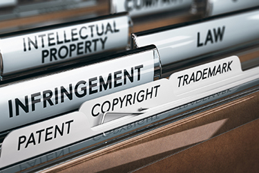 Intellectual property patent copyright trademark