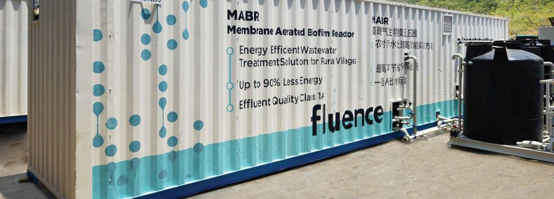 Aspiral™ Packaged Wastewater Treatment Solution (MABR)