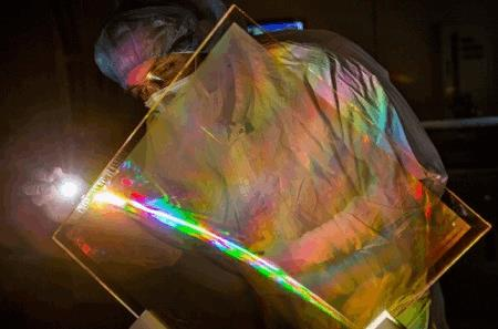 anti reflective optical coating boosts worlds most powerful laser