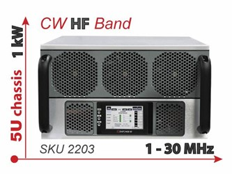 New HF Communications And Jamming Transmitter RF Amplifier System