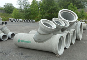 Oldcastle Precast, Inc  Replaces Drainage Pipe For